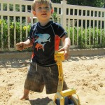 Huge Sand Pit with lots of Toys