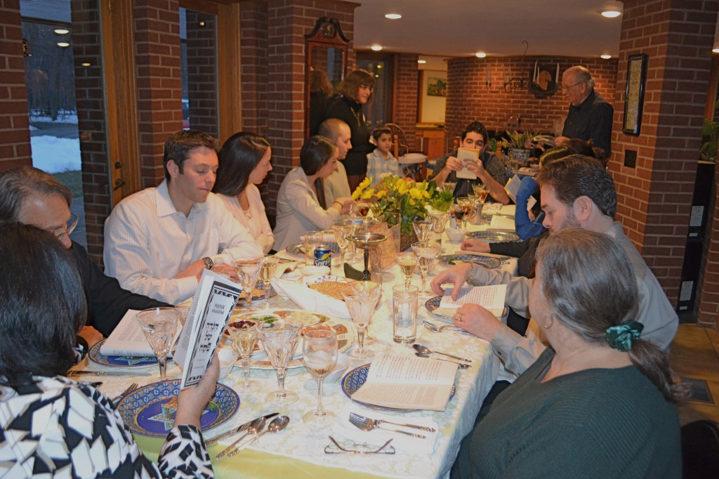 Passover Seder at Bubbie's.