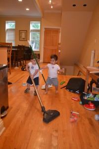 They love cleaning!