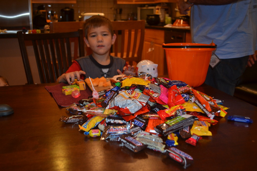 How did Ben get so much more candy than Jack?