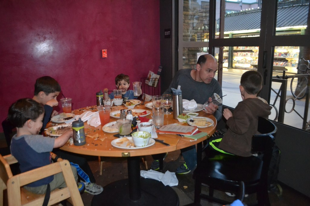 Can you get bad Mexican food in LA? All the kids (and parents too) loved this meal.