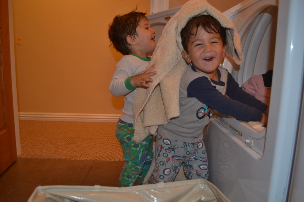 Who knew laundry could be this fun?