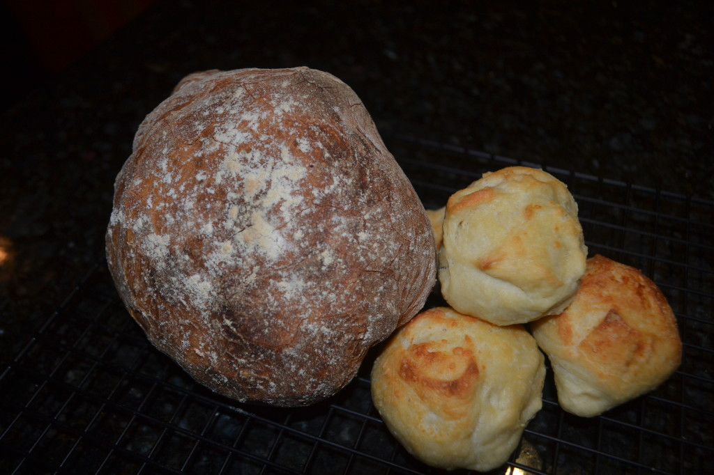 Boule and Dinner Rolls
