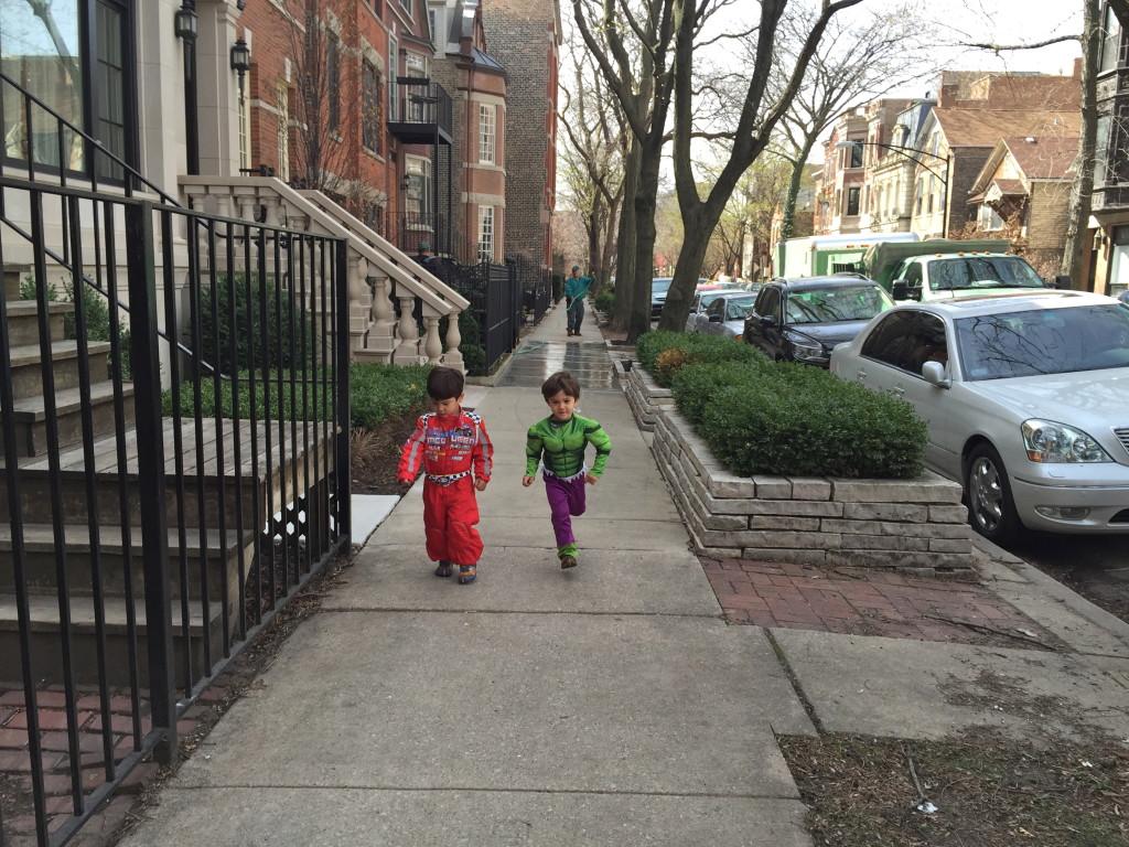 On Random City Streets.