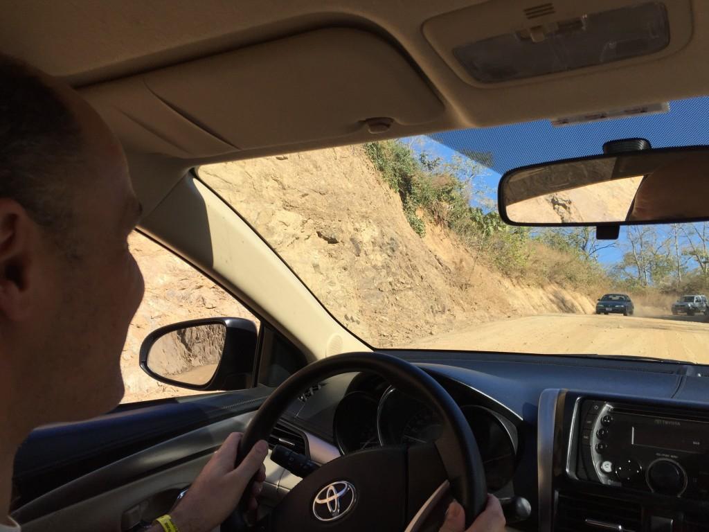 More unpaved roads in Costa Rica.