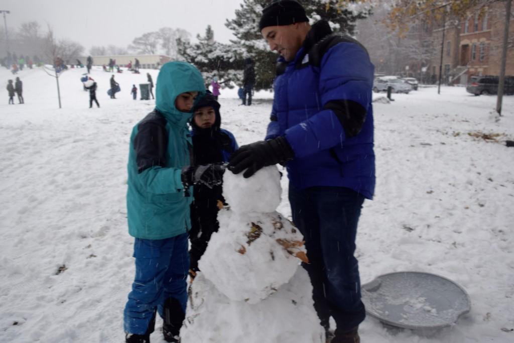Ben's Snowman