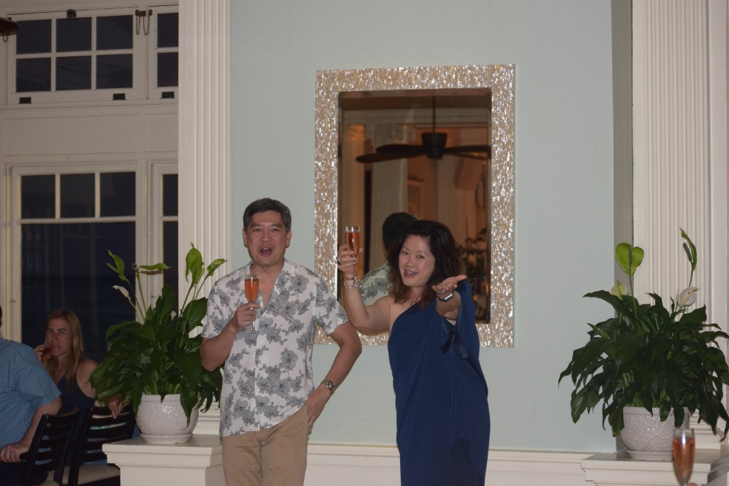 Greg and Margie, our gracious hosts.
