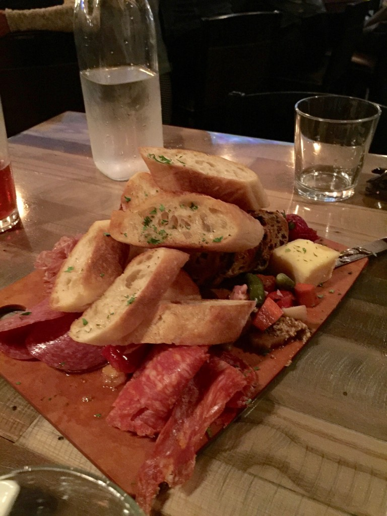 Bridge House's Cheese and Charcuterie Board