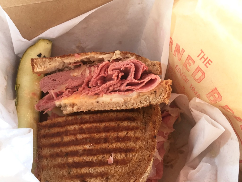 Reuben from The Corned Beef Factory