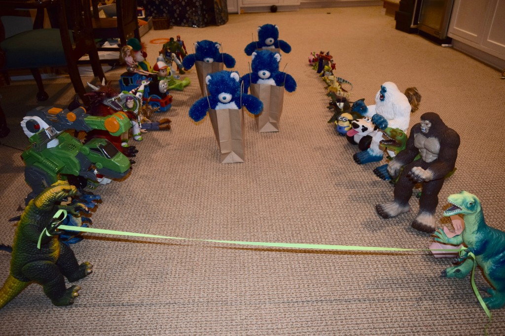 6th Day of Hanukkah. Sack race.