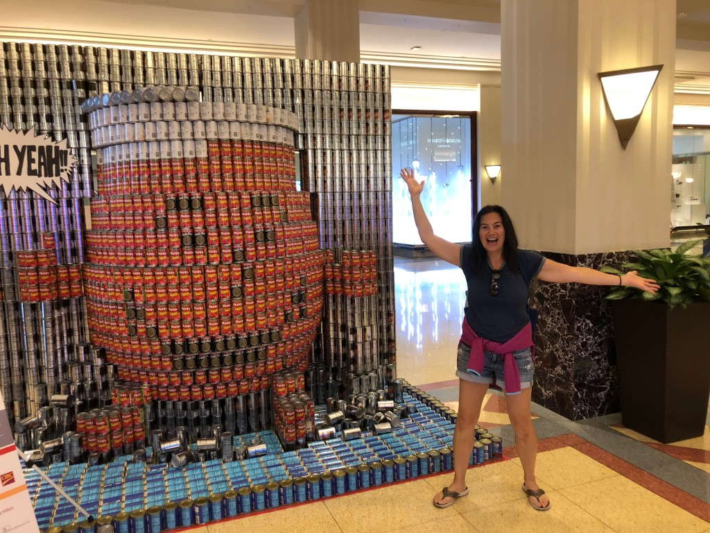 Canstruction exhibit