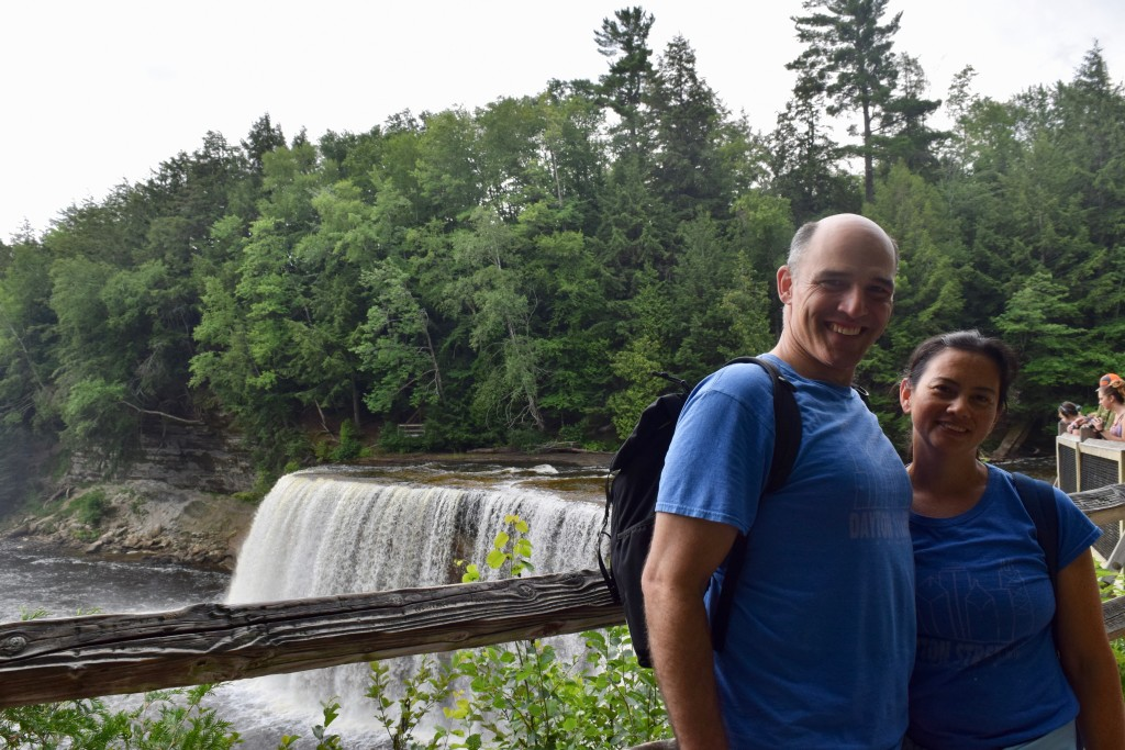 Upper Falls. Tahquamenon Falls is the second largest waterfall in the United States.